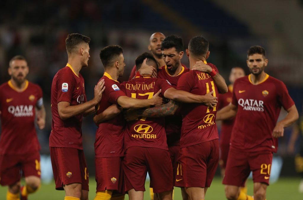 El AS Roma 4-0 Frosinone en cinco detalles