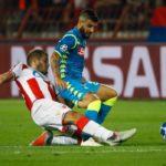 El Estrella Roja 0-0 Napoli en cinco detalles