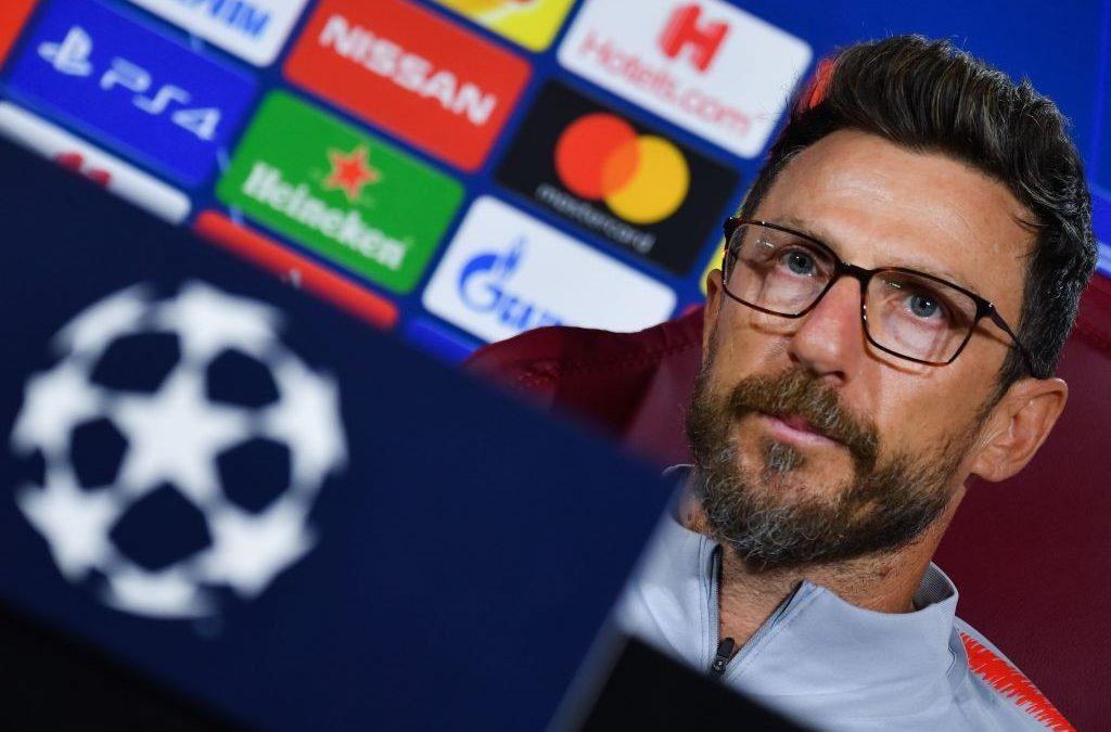 Previa Champions League   AS Roma – Viktoria Plzeň