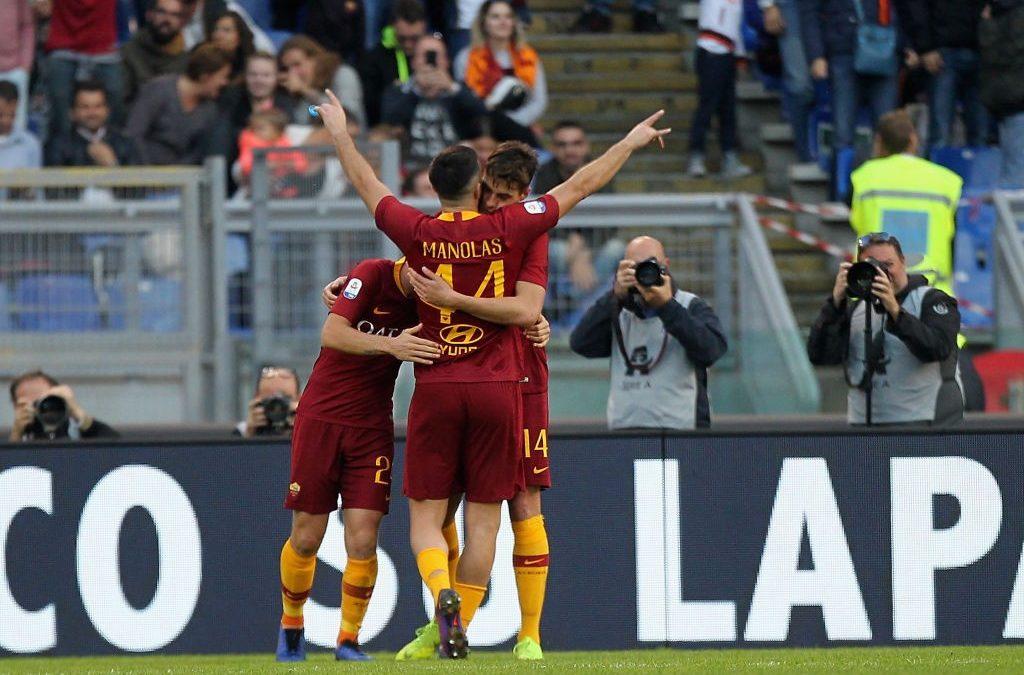 El Roma 4-1 Sampdoria en cinco detalles