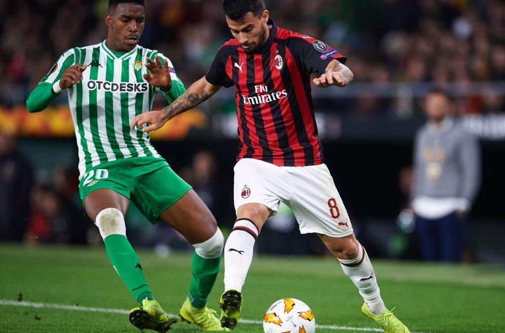 El Real Betis 1–1 AC Milan en cinco detalles